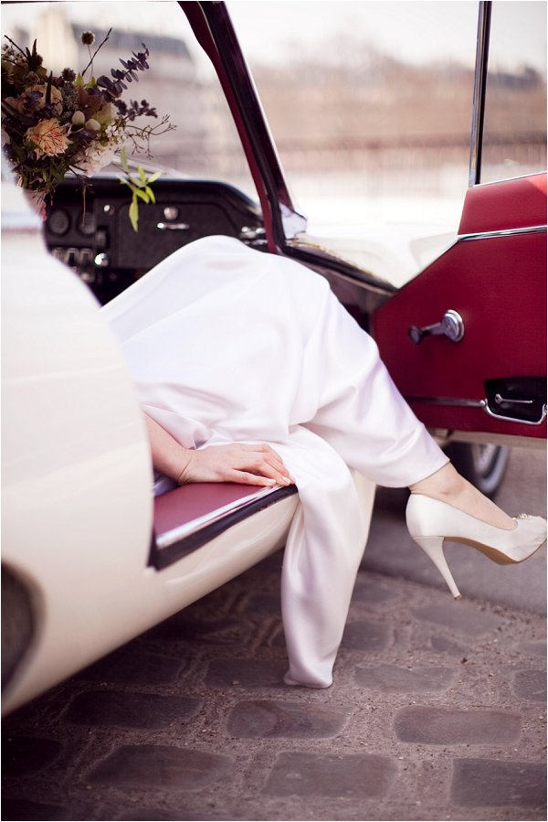 vogue style wedding in Paris
