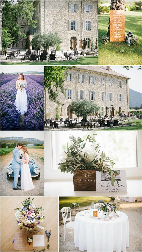 wedding at Chateau les Oliviers des Salettes snapshot