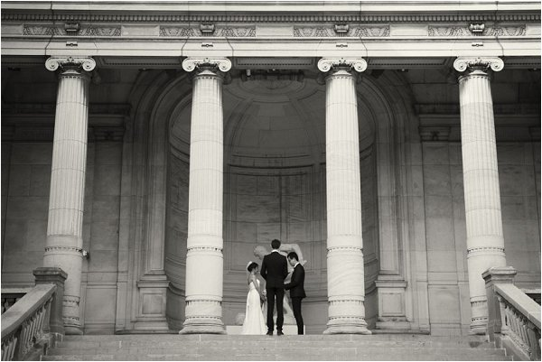 wedding ceremony in Paris