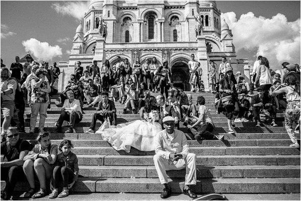 wedding day in Paris