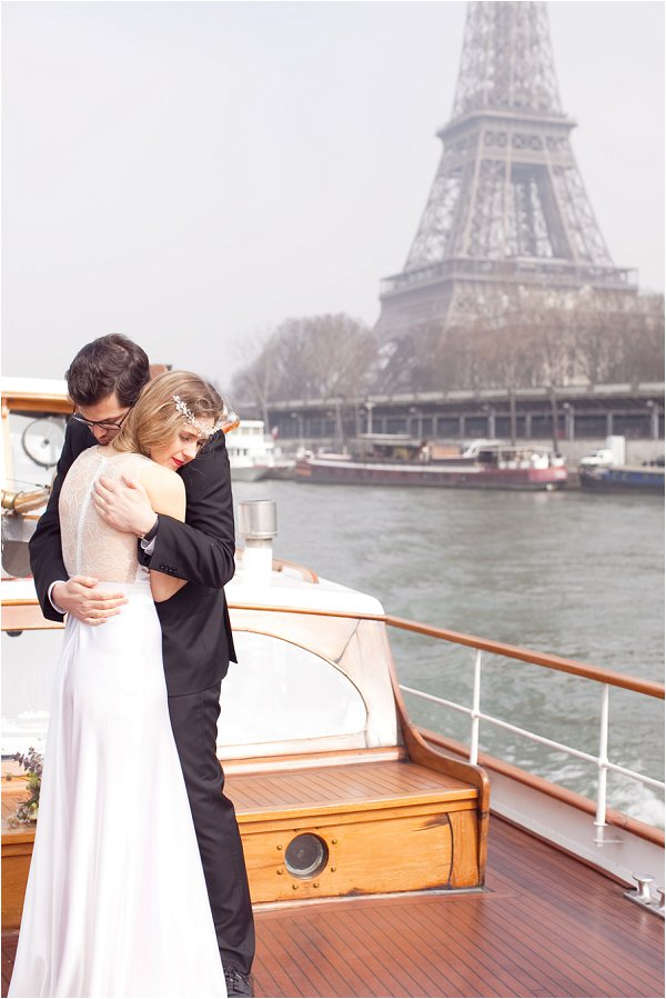 wedding on River Seine