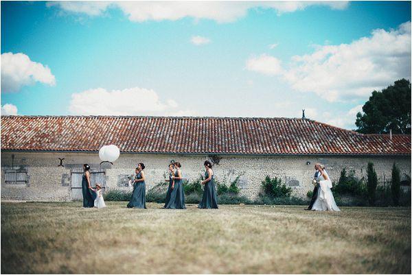 wedding procession abroad