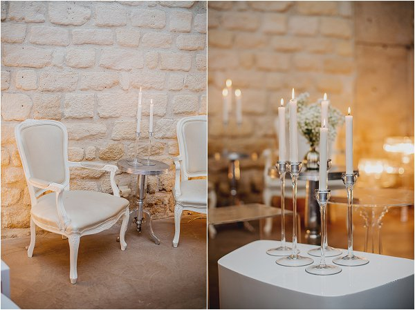 white wedding styling ideas