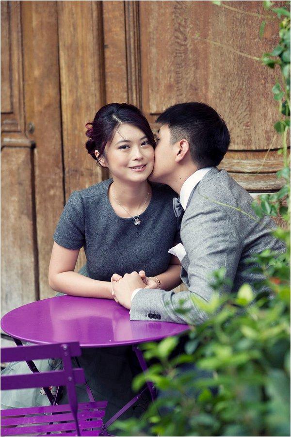 Asian Paris engagement session