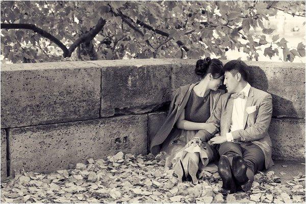 Asian engagement photographer