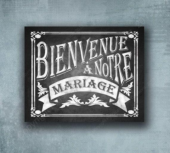 Bienvenue a Notre Mariage