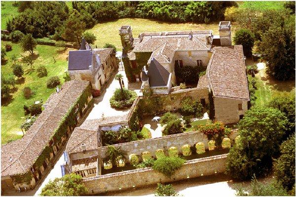 Chateau Sentout near Bordeaux