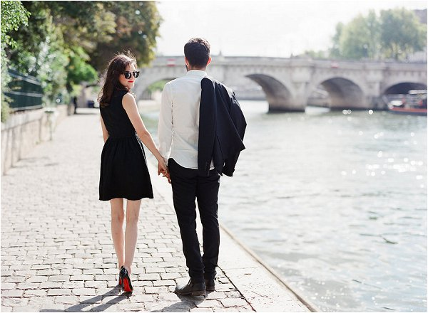 Chic Couple strolling