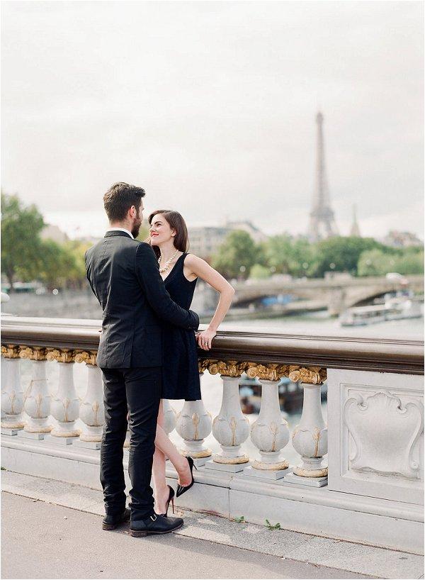 Chic Parisian anniversary Session