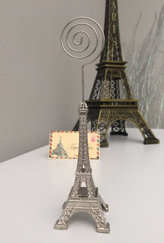 Eiffel Tower Stand for place cards