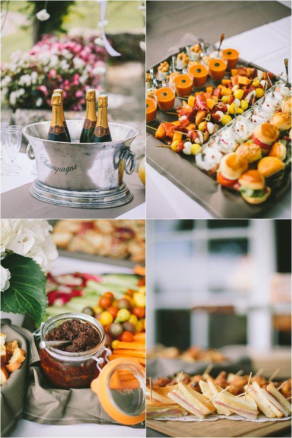 French wedding food ideas