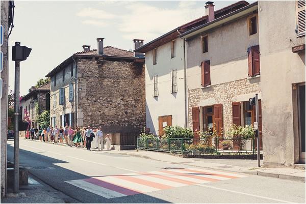 French wedding near Grenoble