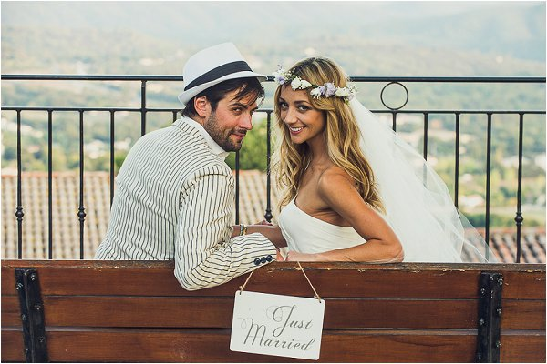 Just Married in Provence