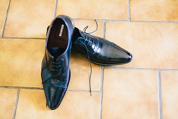 Mens black wedding shoes