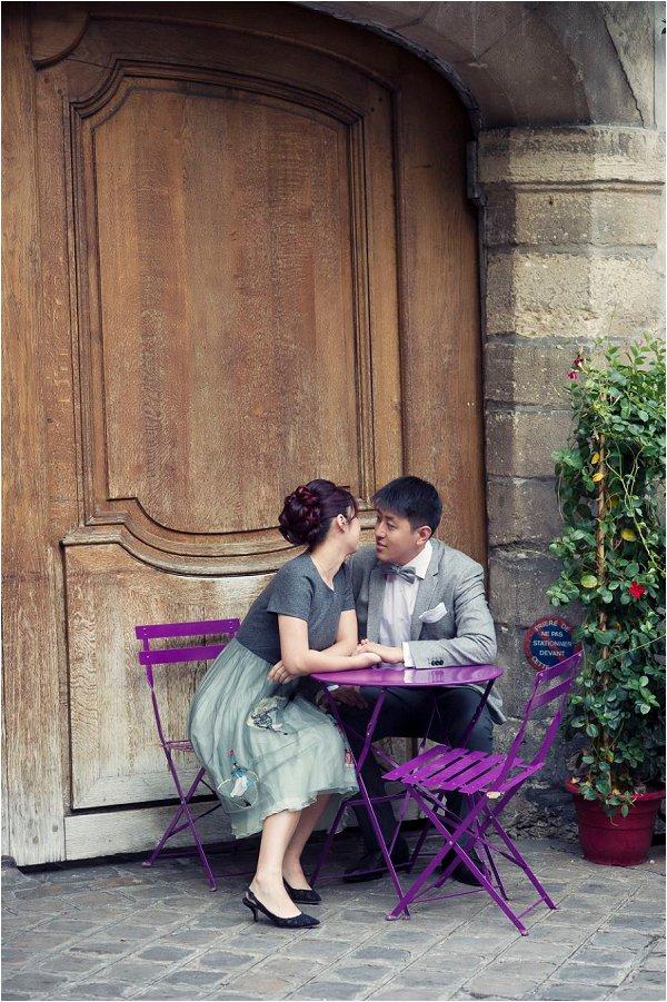 Paris engagement Portraits