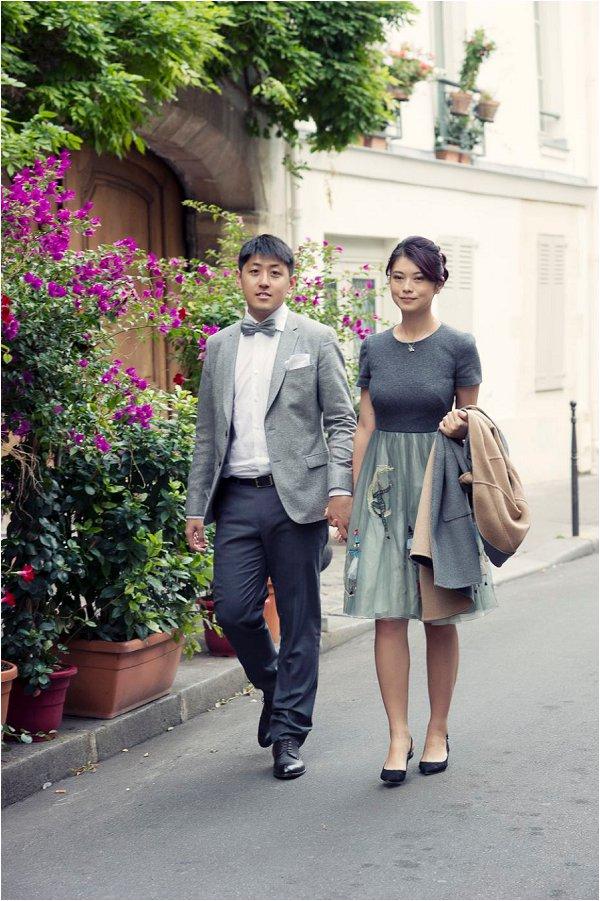 Paris pre-wedding portraits