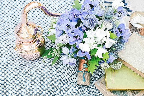 Pretty blue bouquet inspiration