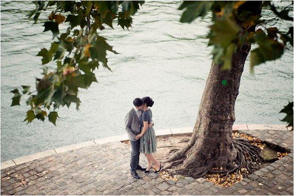 River Seine engagement Paris