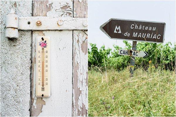 Summer soaring temperatures at Chateau de Mauriac