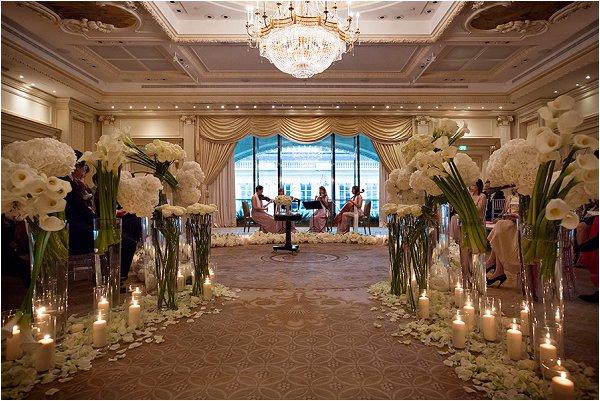 String quartet in the Grand Salon of Shangri-La hotel