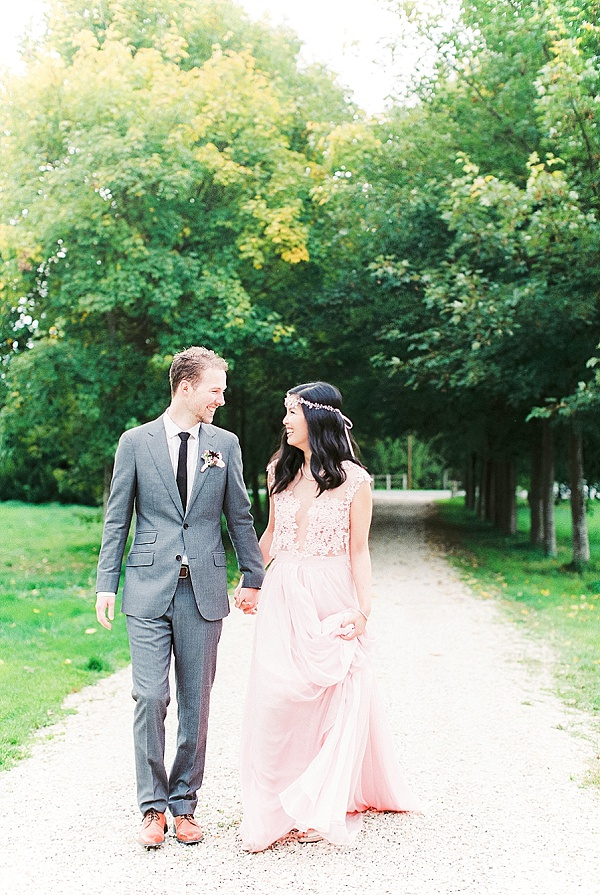 Styled shoot at French Chateau