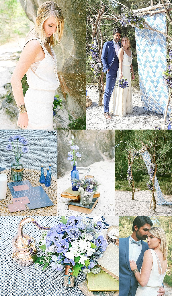 Summer Nights Wedding Inspiration Snapshot