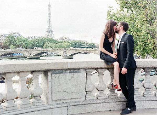 The perfect spot for a kiss