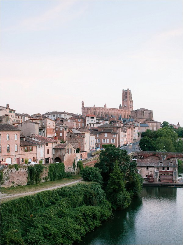 Traditional Senouillac in the Tarn region of France