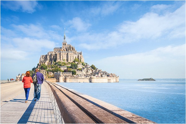 Visiting Mont Saint Michel