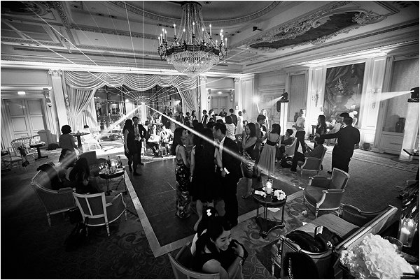 Wedding celebrations at Shangri-La Hotel Paris