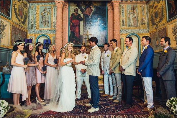 artistic bohemian wedding day