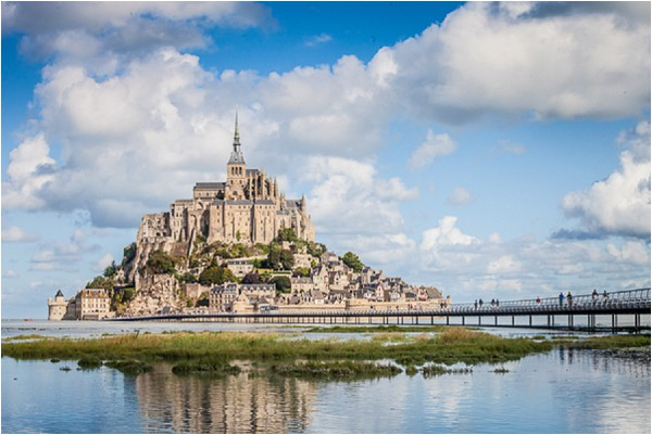 beautiful image of Mont St Michel