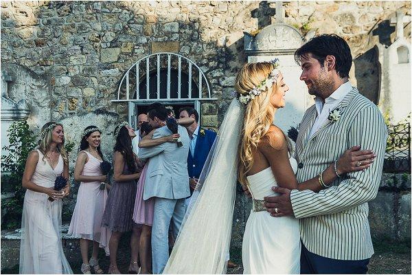 bohemian wedding day style