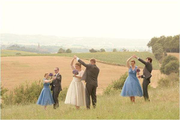 countryside wedding dance