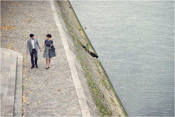 engagement River Seine Paris