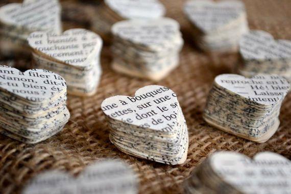 french heart confetti