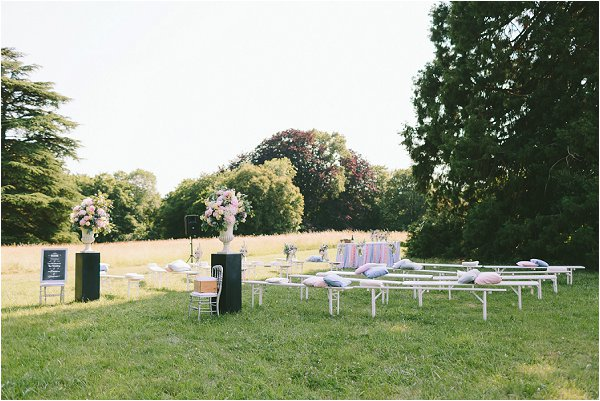 ideas for an outdoor wedding ceremony