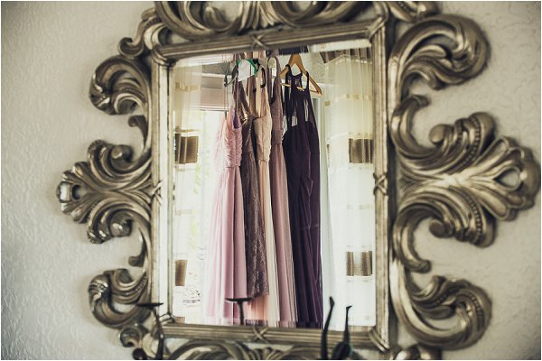 lilac inspired bridesmaid dresses