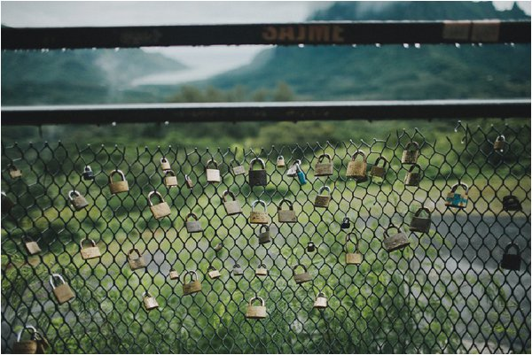 love locks Tahiti
