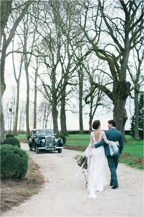 luxury destination wedding in France