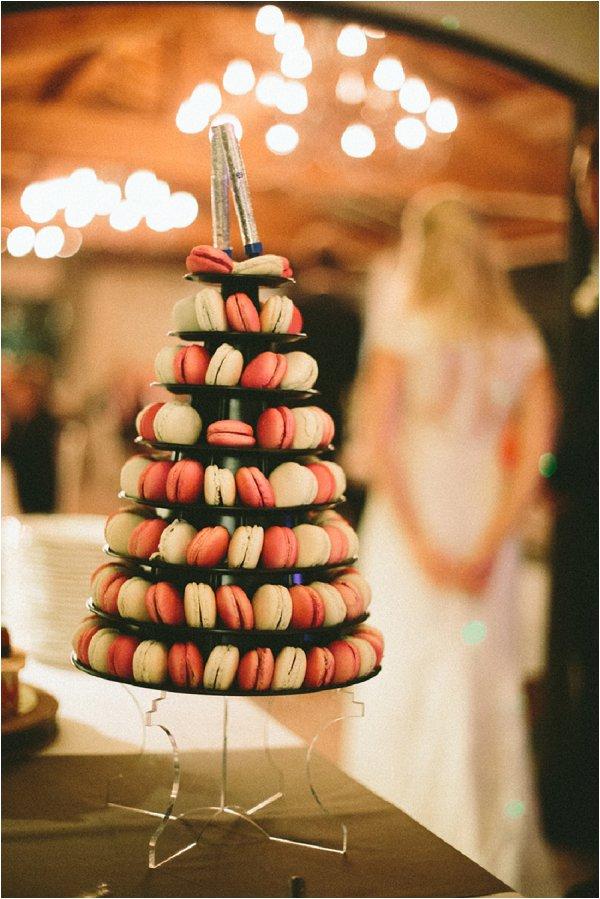 macaron wedding tower