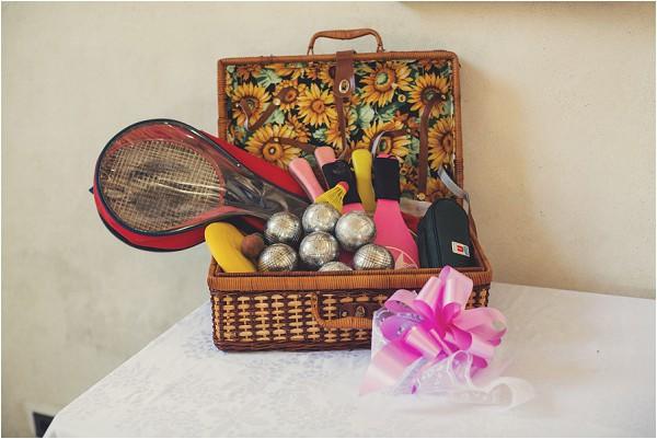 petanque for a wedding