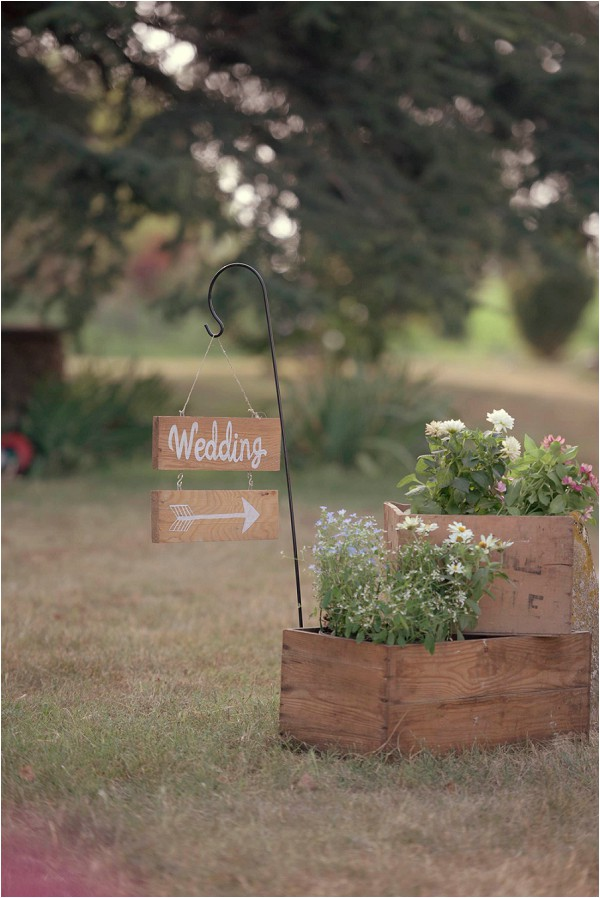 rustc wedding signage