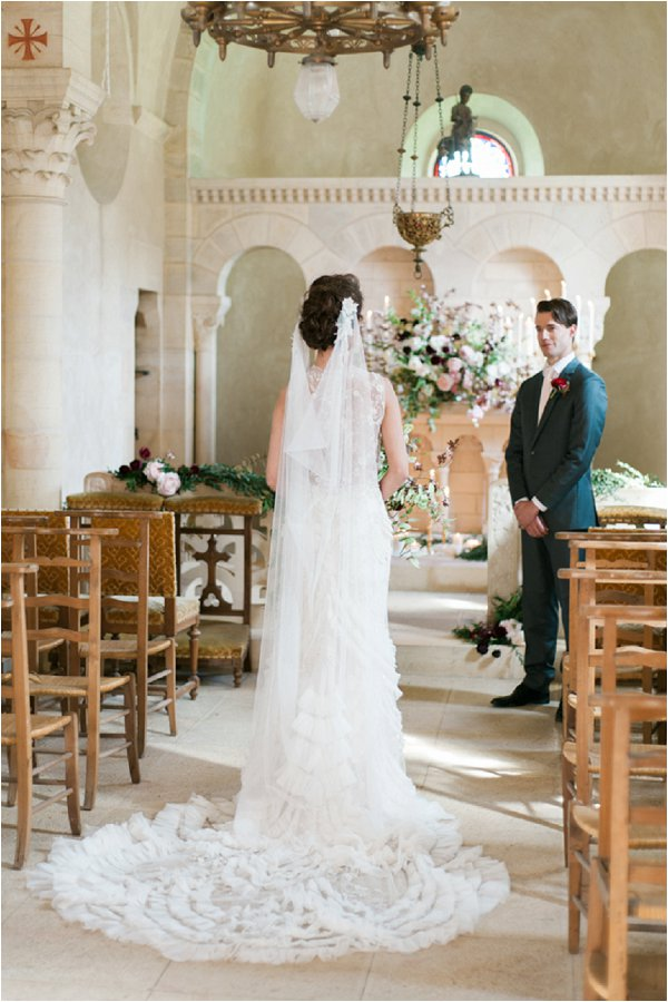 stunning Sarah Janks wedding dress