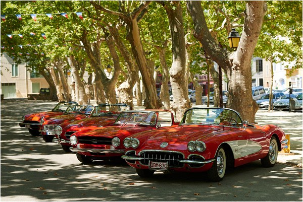vintage car rally Languedoc Roussillon