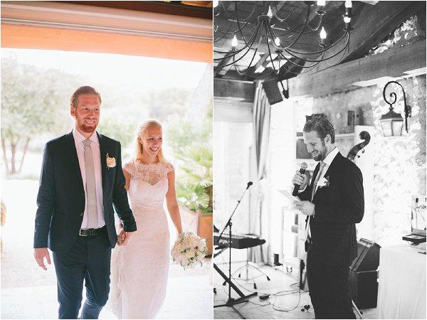 wedding at Le Mas de la Rose