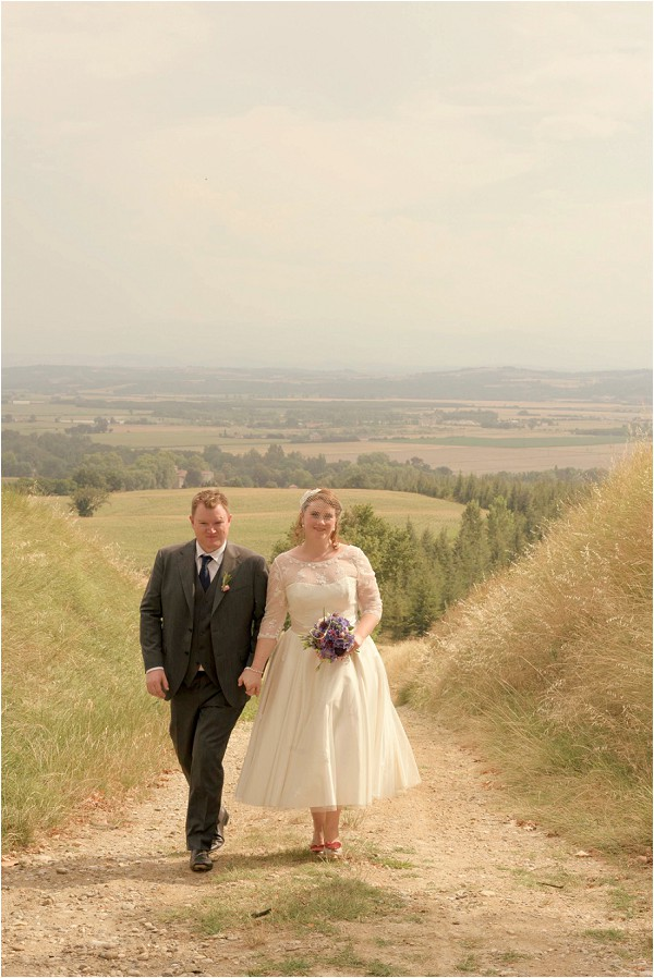 wedding in French countryside