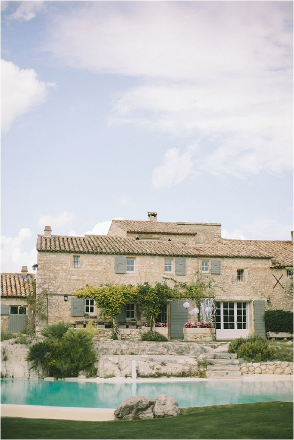 wedding venue in Provence