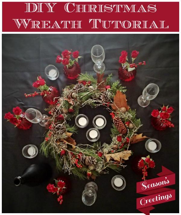 DIY Christmas Wreath Tutorial
