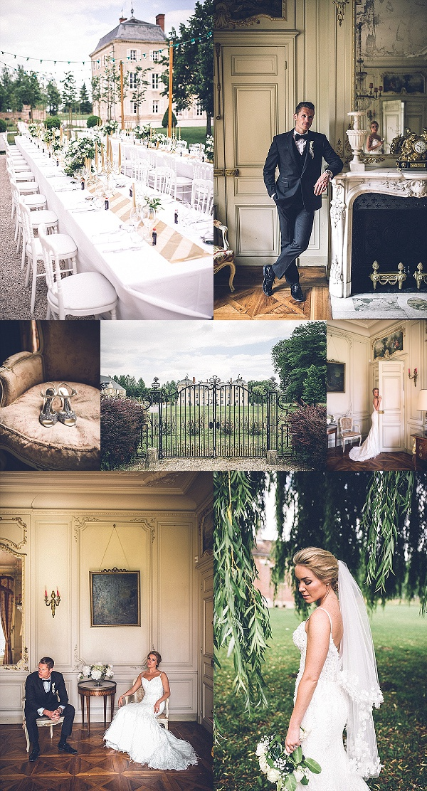 Destination Wedding at Chateau de Varennes Snapshot
